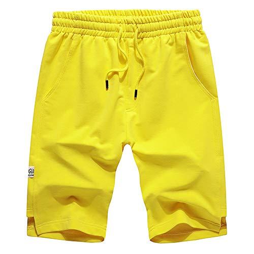 Mens Shorts Hippe Running Shorts Pants Summer Casual Joggers Shorts Elastische Tailleband Met Zakken,f,XL
