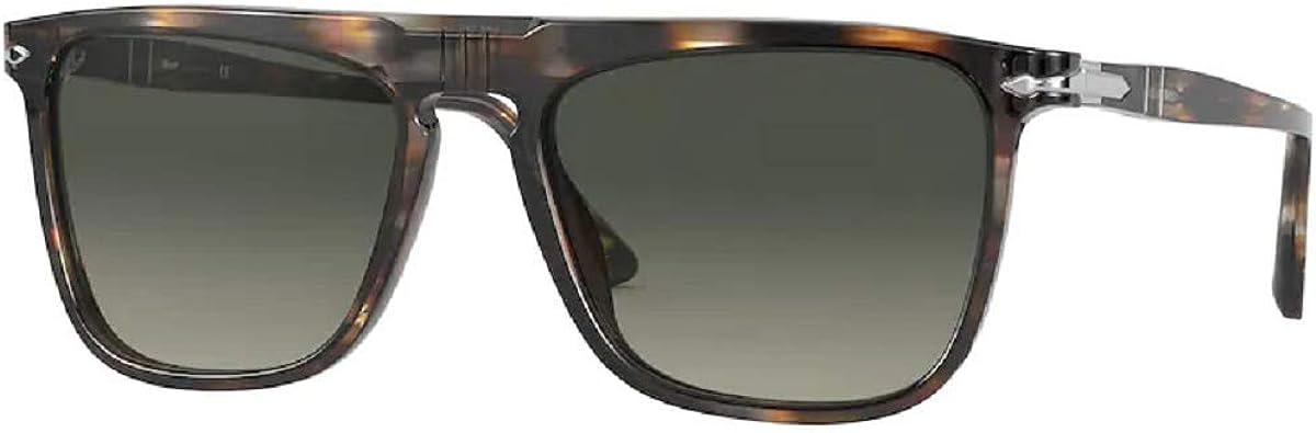 PO3225S Rectangle Sunglasses for Men for Women + FREE Complimentary Eyewear Kit