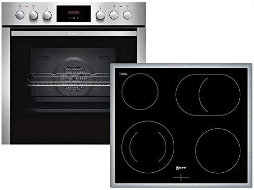 Neff XE3 Set Einbauherd ECB1602 + Glaskeramikkochfeld MR1342N Herdset Küche