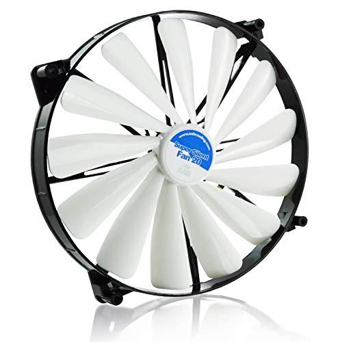 AABCOOLING Super Silent Fan 20 - Un Grande Silencioso y Muy Efectivo Ventilador 200mm, Ventilador de Portatil, Ventilador 20cm, Cooler, 193 m3/h, 800 RPM 14,9 dB