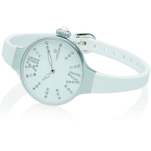 Orologio Donna Chérie Midi Stones Silver Bianco Hoops