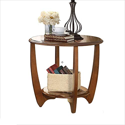 XIAOYAN Table basse simple ronde table d'appoint canapé petite table ronde -36 / 42cm