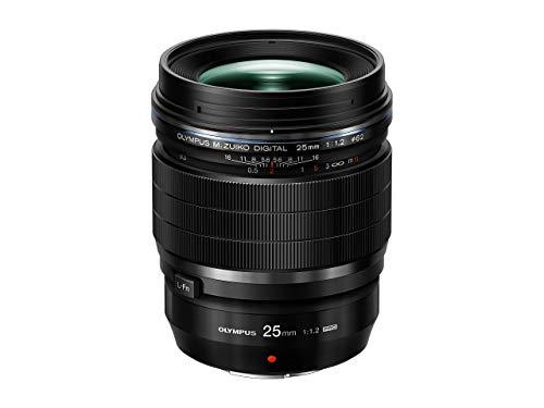 Olympus M. Zuiko Digital ED 25mm 1:1.2 Pro Objektiv, geeignet für alle MFT-Kameras (Olympus OM-D & PEN Modelle, Panasonic G-Serie), schwarz