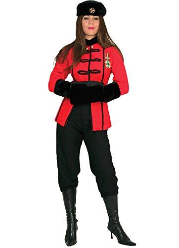chiber - Disfraz Mujer Oficial Cosaca