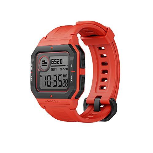 Amazfit Neo - Smartwatch Orange, Rojo