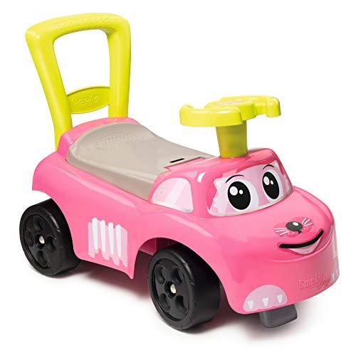 Smoby - 720524 - Porteur Auto Rose