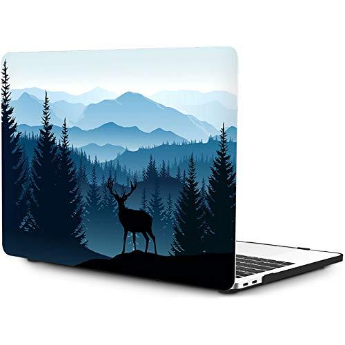 OneGET Coque rigide en plastique pour MacBook Pro 13 2016-2019 A1989 A1706 A1708 A2159 Couleur crème