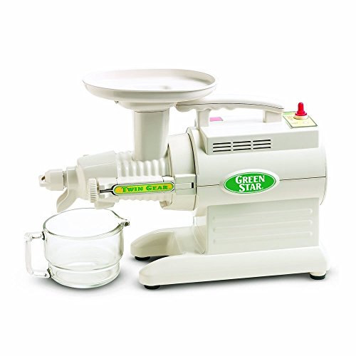 Tribest Green Star GS-1000-220V Basic Twin Gear Juice Extractor, 220V, NOT FOR...