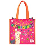 Stephen Joseph Kids Medium Recycled Gift Bag, LLAMA