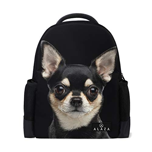 Chihuahua Dog Backpack 14 Inch Laptop Daypack Bookbag for Travel College School