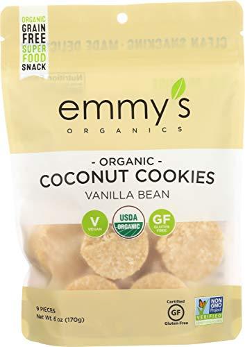 EMMYS Organic Vanilla Coconut Macaroons, 6 OZ