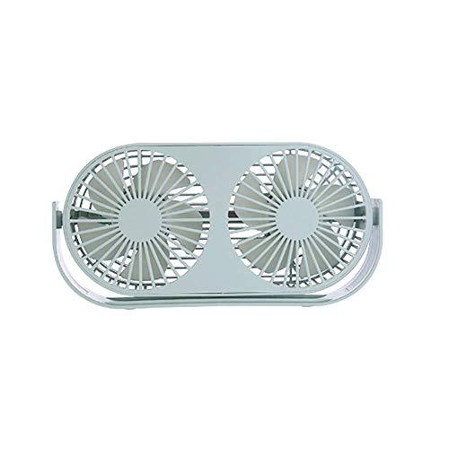 Local Makes A Comeback Mini-ventilator met drie vleugels, verstelbaar, aromatherapie-ventilator, voor op het bureau in huis en groen