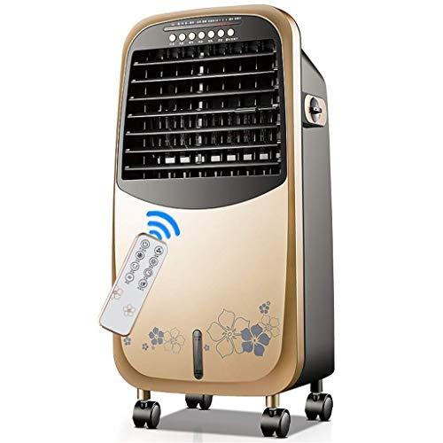 Mini Aire Acondicionado Portátil, Acondicionador de aire, móvil, sin manguera portátil 4-en 1 enfriador de aire evaporativo y humidificador de calentadores de ventilador y función de purificador de ai