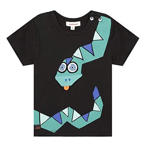 Catimini Cq10032 tee Shirt Camiseta, Negro (Noir 02), 3-6 Meses (Talla del...