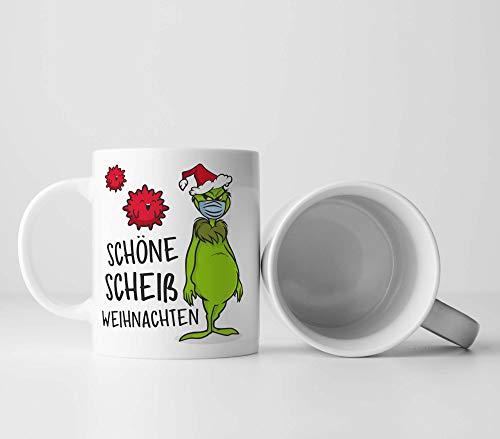 Schöne scheiß Weihnachten Christmas Tasse