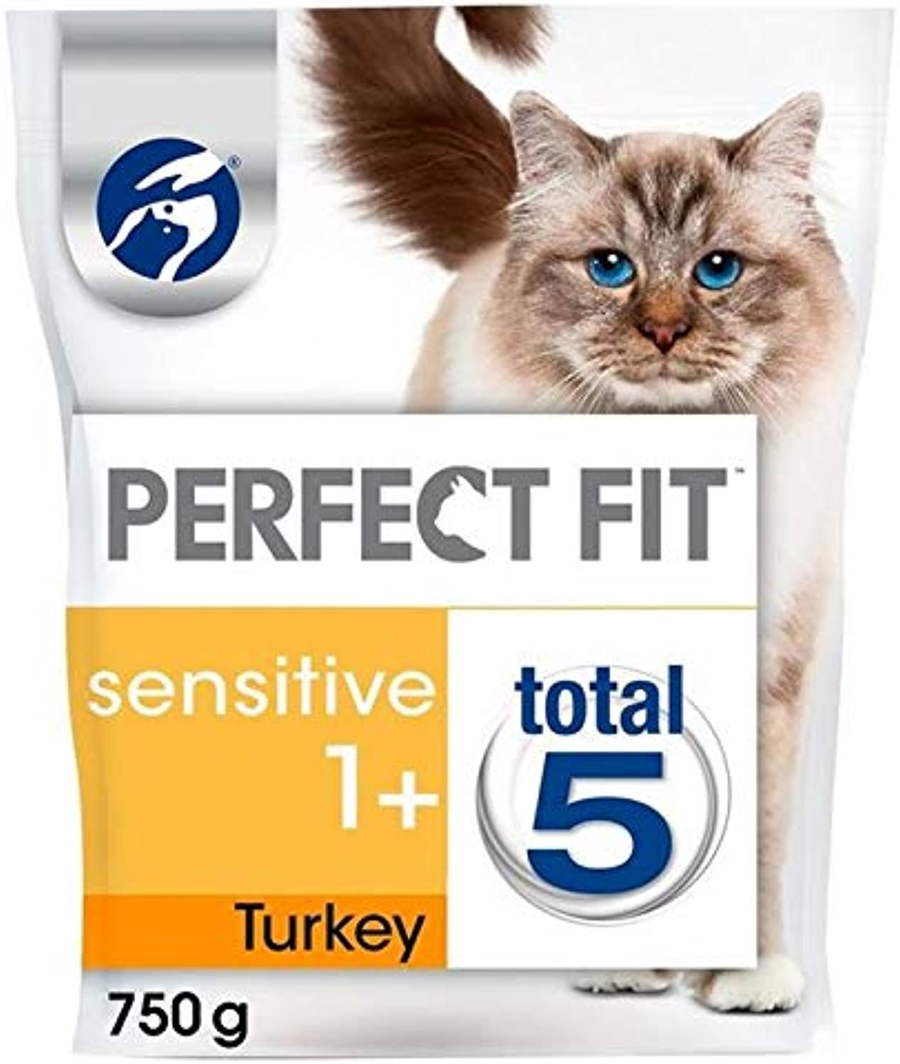 2X 1+ Sensitive Cat Complete Dry Turkey 750g