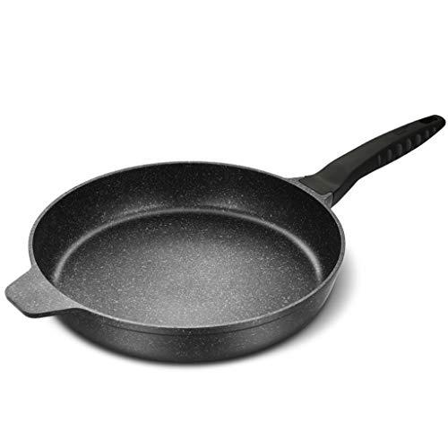 Antiadhésives Frying Pan, Maifan Revêtement de pierre, 12.6in Omelette Pan Poêle à frire ronde avec poignée, pour gaz, électrique, céramique et induction