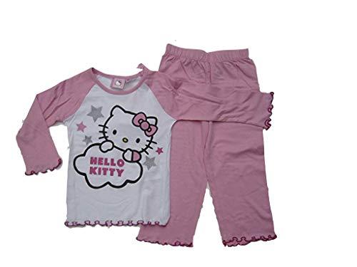 Hello Kitty Pijama Rosa/Blanco