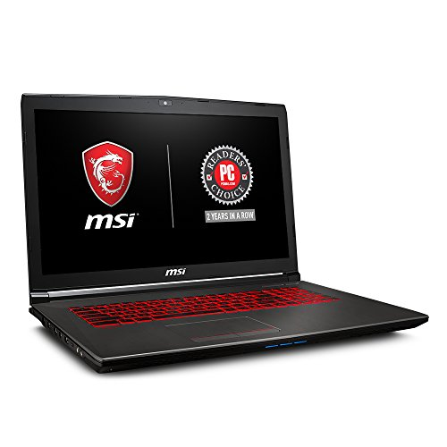 MSI GV72 8RE-007 17.3' Thin and Light Gaming Laptop GTX 1060...
