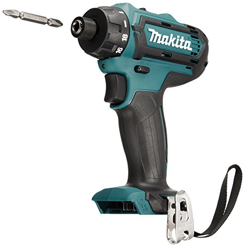 Makita DF031DZ 10.8 V CXT Combi Drill Driver Bare Unit, Blue, 20.6 x 7.7 x 19.5 cm