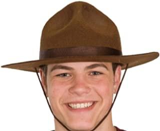 Men's Adult Felt Ranger Hat (5.5 Inch Tall)