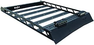 N-Fab T102MRF Textured Black Aluminum Modular Roof Rack Black-T102MRF