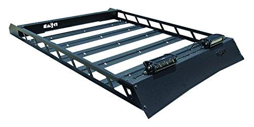 n-FAB T102MRF Textured Black Roof Rack; Aluminum Modular Roof Rack Toyota 4 Runner Fits All Styles 4 Door 10-17