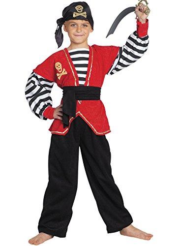 chiber - Disfraz Bucanero Pirata Nio (6-8 aos)