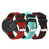 YaYuu Garmin Forerunner 235 Bracelet de Montre, Bracelet de Remplacement Watch Band Bande de Montre en Silicone avec Outils pour...