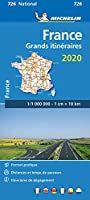 France Route Planning 2020 - Michelin National Map 726: Map (Michelin National Maps)