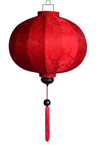 Lampionsenzo Chinesische Lampe Rund Rot by