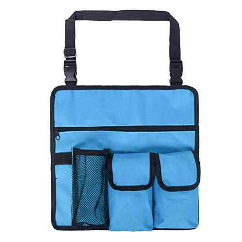 Lantro JS Reisetasche, strapazierfähige Strandtasche, Oxford-Stoff mit Schultergurt zur Aufbewahrung Reisetaschen-Handytasche(22 * 11 * 5cm-Blue)