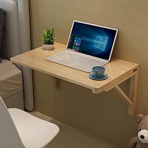 WSHFHDLC, tavolino da salotto per tavoletta, tavolo da appendere alla parete, in legno, per lavanderia, camera da letto, bagno, piccolo tavolino (dimensioni: 70 x 50 cm (27,5 x 19,6))
