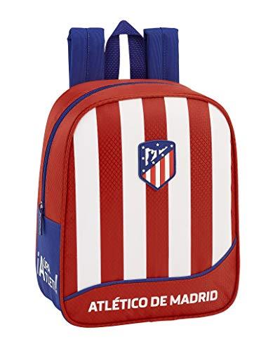 Atlético de Madrid Club de fútbol Mochila guardería niño Adaptable Carro.