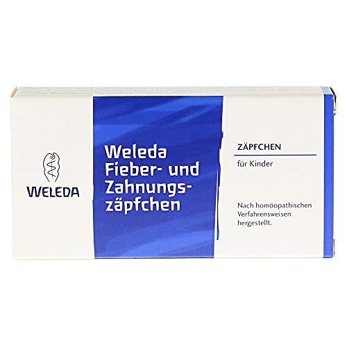 Weleda Fieber- und Zahnungsz�pfchen, 10 St