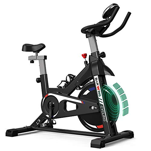 BARWING Exercise Bike Stationary Workout Bike with Magnetic...