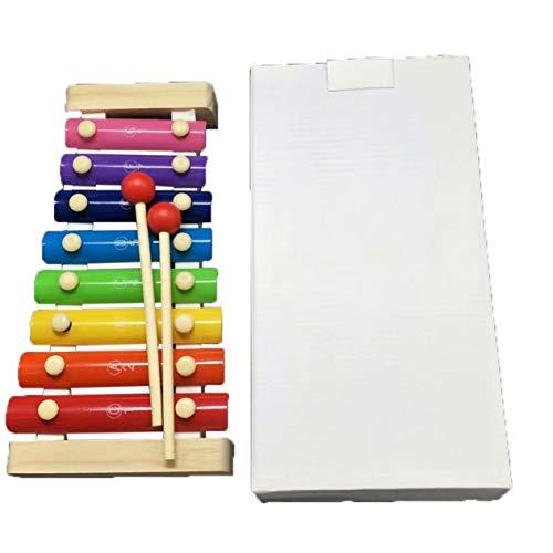 Teenager Pädagogisches Lernwerkzeug Spielzeug Oktave Klopfen Klavier Note Version Musik 0.38 Oktave Klopfen Klavier Musik Spielzeug (Bunt) -BCVBFGCXVB