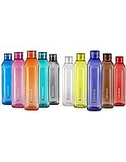 Cello Venice Exclusive Edition Plastic Water Bottle Set, 1 Litre, Set of 5