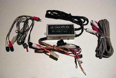 AUDIOVOX FMM100 FM modulator with isolation transformer