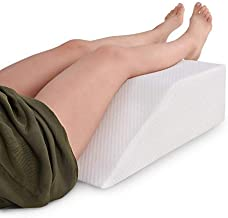METRON-(Large-Size Firm Support) Leg Elevating Wedge Pillow Reduces Back Pain & Improves Blood Circulation Helps in Pregnancy