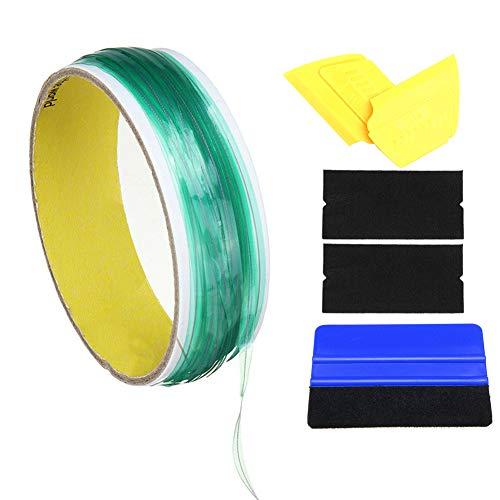 kangOnline10M riemenloses Klebeband mit Rakelwerkzeug für die Vinylverpackung von Folien