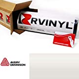 Avery Dennison SW900 109-S Gloss White Pearl Supreme Wrapping Film Vinyl Vehicle Car Wrap Sheet Roll - (12' x 60' w/Application Card)