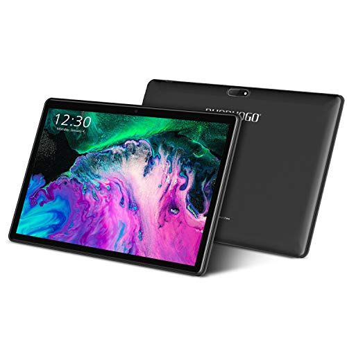Tablet 10 Pollici con Wifi Offerte 4G Android 10.1 Certificato Google GMS 3GB RAM 32GB 128GB Tablet PC in Offerta 8000mAh Dual SIM 8MP Camera Tablet Android Offerta Del Giorno con Netflix(Nero)