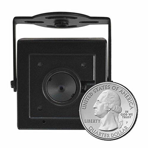 HDView 2.4MP 4-in-1 HD (TVI/AHD/CVI/960H) Turbo Platinum Spy Hidden Camera 3.7mm Pinhole Lens HD 1080P