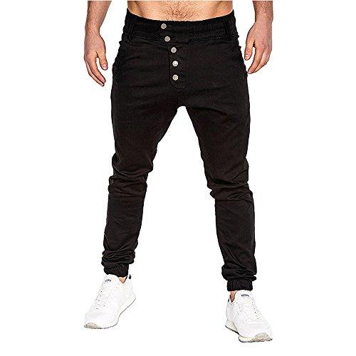 Herfst winterbroek heren FRAUIT mannen sport effen losse broek chino jeans pant zwart lange broek broek broek vrijetijdsbroek tapered fit heren kleding casual jogger broek topkwaliteit voor mannen