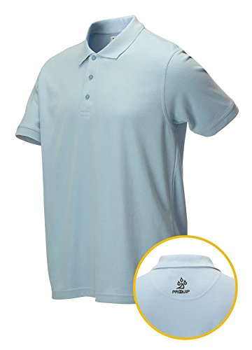 Proquip Golf 2015 Tour Elite Polo Bleu Clair Taille L