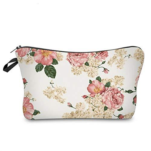 Sloth Cosmetic Bag Waterproof Printing Swanky Turtle Leaf Toilet Bag Custom Style for Travel HZB-37