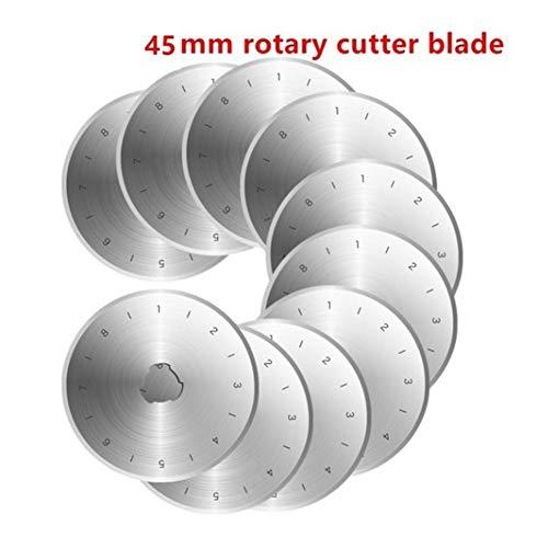 Lame de rechange pour cutter circulaire 45 mm Couture Quilt 1 Unités Patchwork Poêle