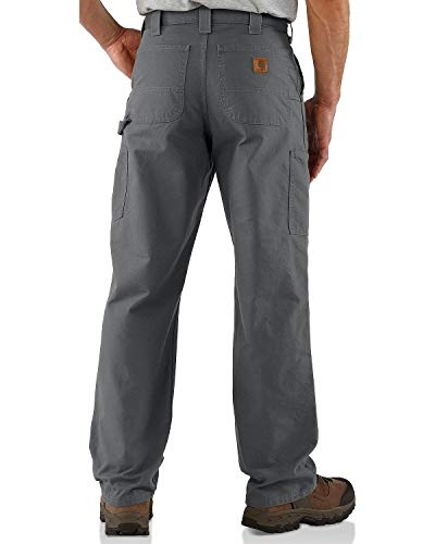 Carhartt Men's Canvas Dungaree Work Pant, Fatigue, 36W X 32L