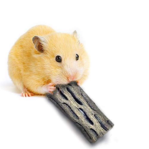 SunGrow Cholla Wood for Hamsters, Edible Softwood,...